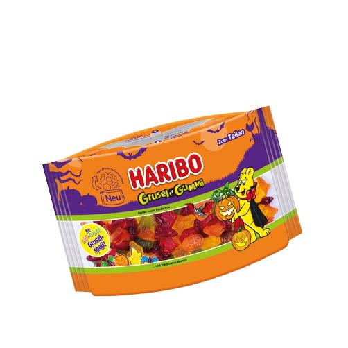 Kẹo dẻo hình ma quái Grusel Gummi hiệu Haribo – túi 450g