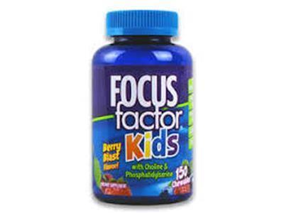 Kẹo dẻo phát triển trí não cho trẻ – Focus Factor Kids 150 viên