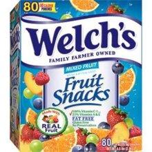 Kẹo dẻo trái cây Welch's 80 gói