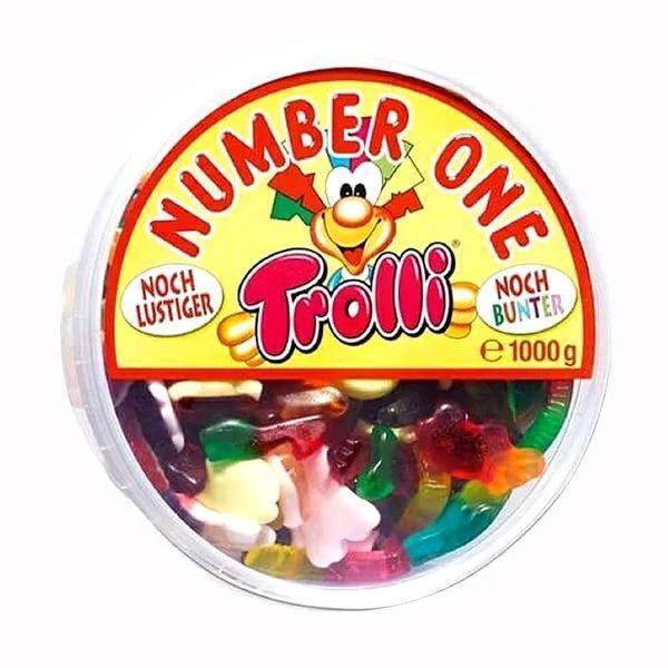 Kẹo dẻo Trolli Number One 1kg