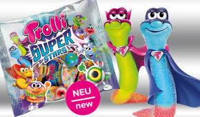 Kẹo dẻo Trolli Super Stars hỗn hợp 200gr