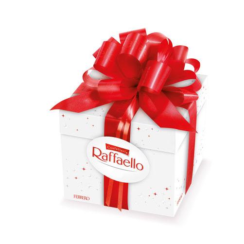 Kẹo dừa Raffaello Ferrero hộp nơ 300g