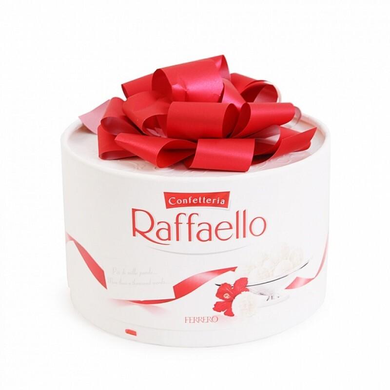 Kẹo dừa Raffaello Ferrero hộp nơ 100g