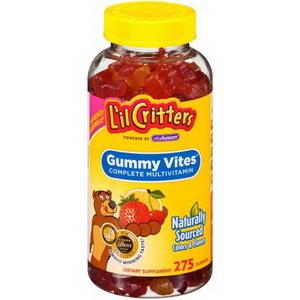 Kẹo gấu dẻo bổ sung đa vitamin cho trẻ L'il Critter Gummy Vites 275 viên