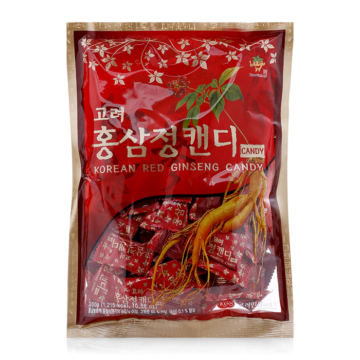 Kẹo hồng sâm KGS Korean Red Ginseng Candy 300g