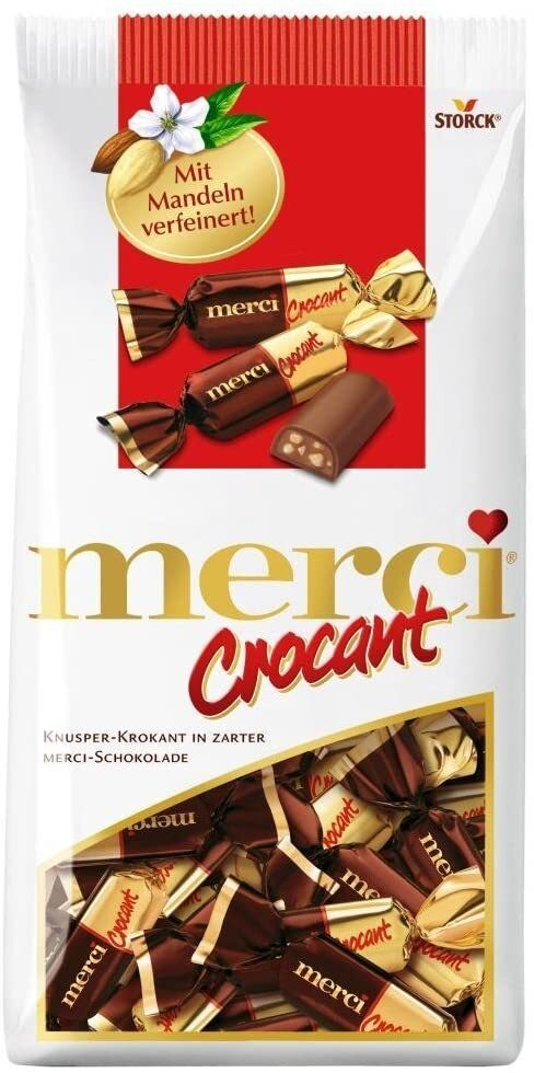 Kẹo Merci Crocant 200gr