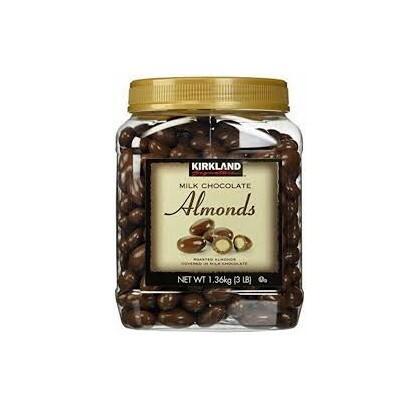 Kẹo Milk Chocolate Almonds Kirkland – 1.36kg