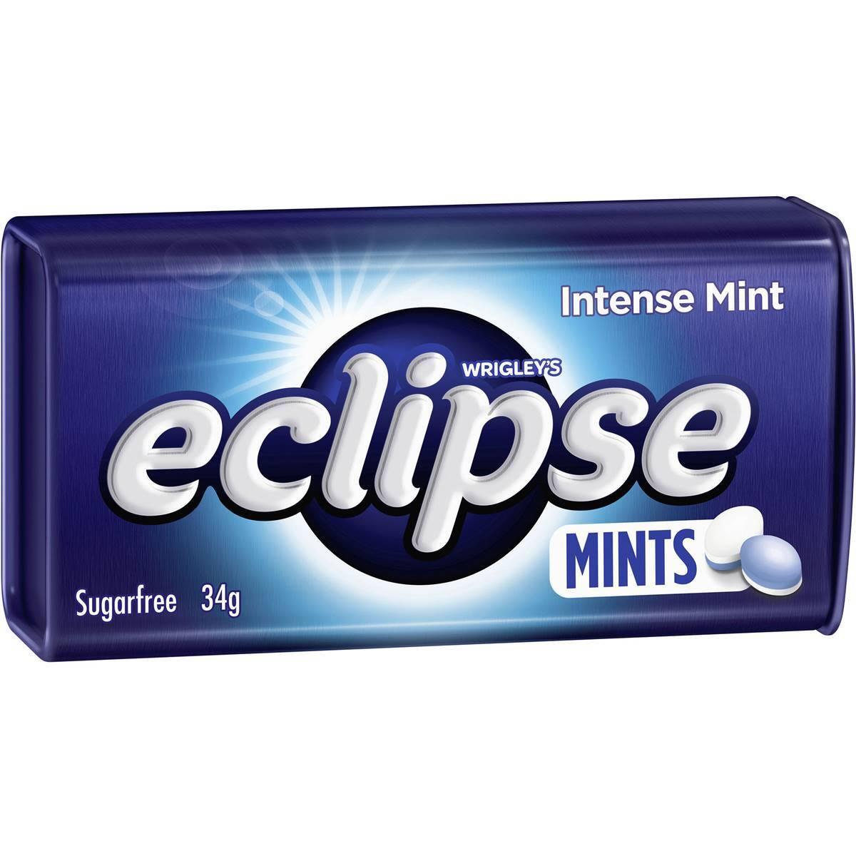 Kẹo Ngậm Mỹ Eclipse Mints Vị Intense mint 40g