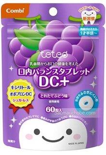 Kẹo ngừa sâu răng cho bé Combi vị nho 60 viên