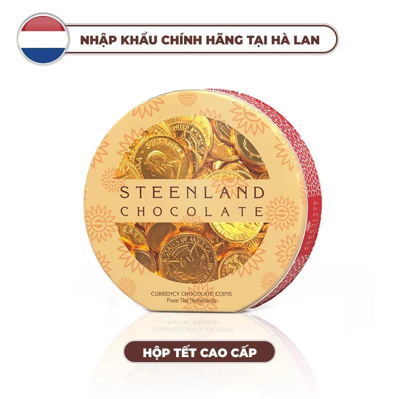 Kẹo sô cô la đồng xu Steenland 180g