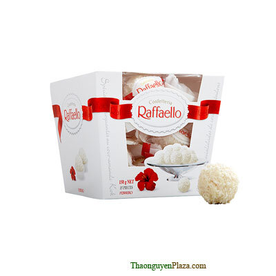 Kẹo Sô cô la nhân hạnh nhân Ferrero Raffaello 150g