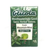 Kẹo thảo mộc bạc hà Mountain Mint hiệu Ricola 40g