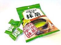 Kẹo trà xanh nhân sữa 8.2 UHA Nhật 84G