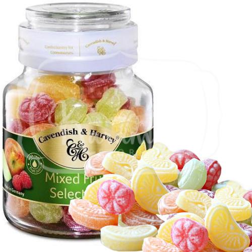 Kẹo trái cây hỗn hợp Cavendish Harvey 300g