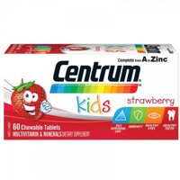 Kẹo vitamin Centrum Kids Multi Vitamin 60 Strawberry