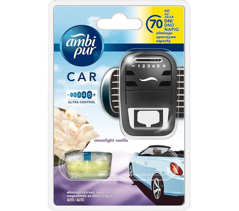 Kẹp thơm xe hơi Ambi Pur Car Air Freshener Starter Kit ABP8455 7ml