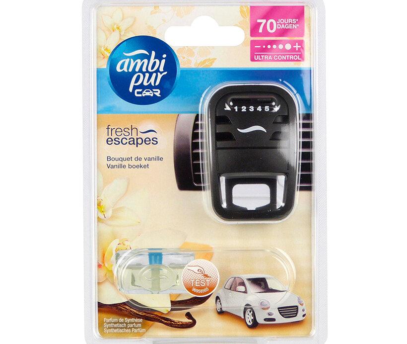 Kẹp thơm xe hơi Ambi Pur Car Air Freshener Starter Kit ABP6222 7ml