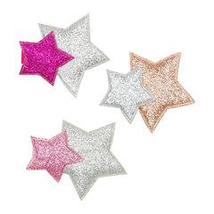 Kẹp tóc ngôi sao may mắn Pink Poppy HCG114