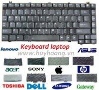 Keyboard Dell M6400