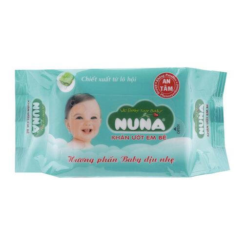 Khăn giấy ướt chiết xuất lô hội Nuna 30 tờ
