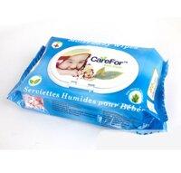 Khăn giấy ướt trẻ em Carefor 80 miếng
