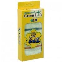 Khăn mặt sợi tre Green Life 25x25 cm