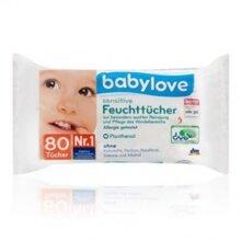 Khăn ướt trẻ em BabyLove Đức - 80 tờ