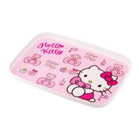 Khay bằng nhựa Hello Kitty LKT408