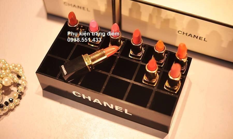 Khay đựng son Chanel 18 ô