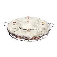 Khay mứt sứ Ceramic Porcelain H810-M24