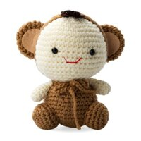 Khỉ vui vẻ Happy Monkey Bobi Craft WT-028BRW-M - 16ccm