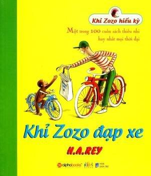 Khỉ Zozo đạp xe - H. A. Rey
