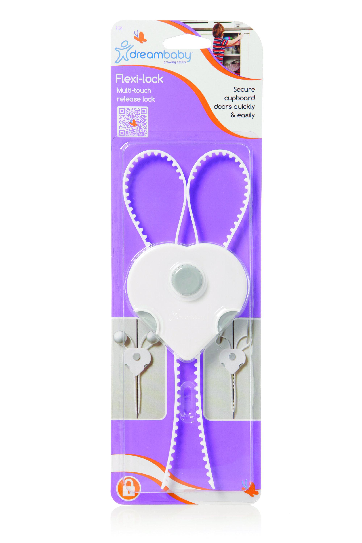 Khóa an toàn hình tim chỉnh dây Dreambaby