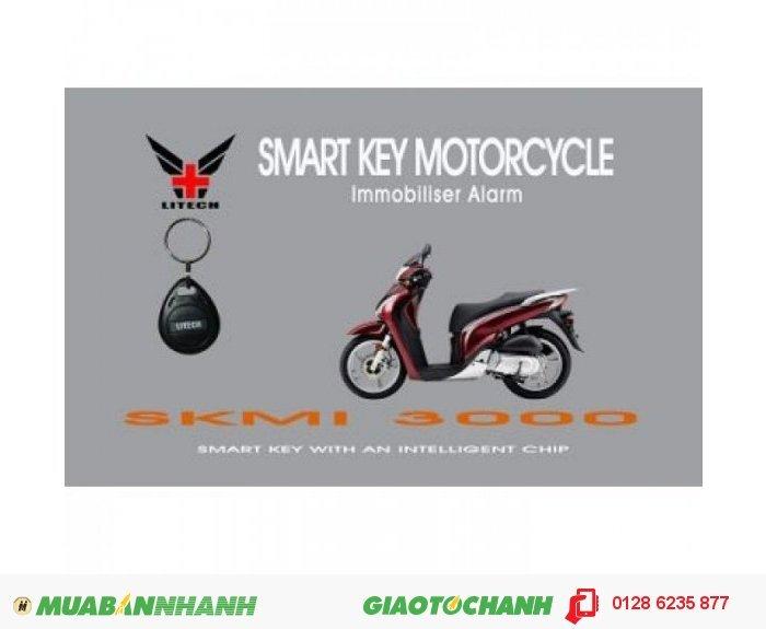 Khóa chống trộm xe Smartkey Litech V1-3000