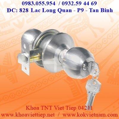 Khóa tay nắm tròn Việt Tiệp 04211