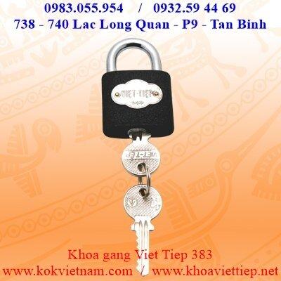 Khóa treo gang bấm Việt Tiệp 01383
