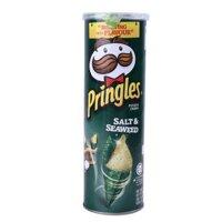 Khoai tây chiên Pringles Salt & Seaweed 110g