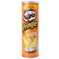 Khoai tây chiên Pringles Cheesy Cheese 110g