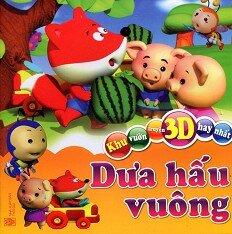 Khu Vườn Truyện 3D Hay Nhất - Dưa Hấu Vuông