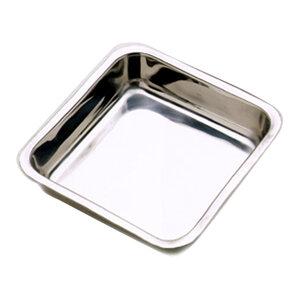 Khuôn bánh vuông bằng thép không rỉ NORPRO (20 X 4.5CM)