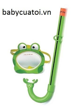 Kính bơi và ống thở hình ếch Intex 55940