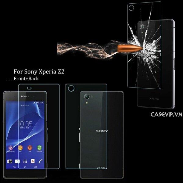 Kính cường lực Sony Xperia Z2 hiệu Mercury