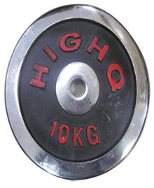 Tạ miếng inox HIGHQ 10kg