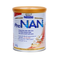 Sữa bột Nestle Pre Nan - hộp 400g (dành cho trẻ thiếu tháng, nhẹ cân)