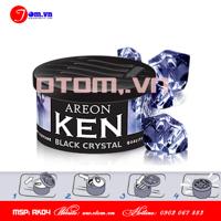 Sáp thơm ô tô cao cấp AREON KEN  Black Crystal