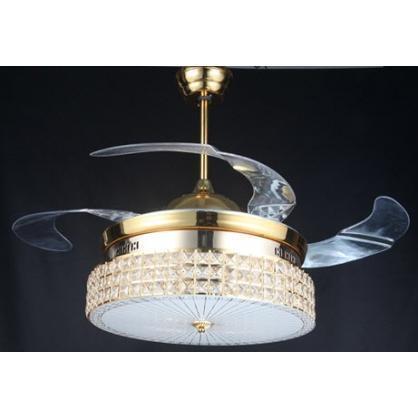 Quạt trần đèn chùm cao cấp Light Fan GD-5000