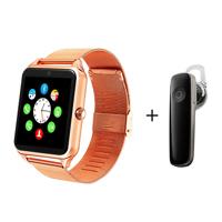 Đồng hồ thông minh dây thép có khe sim Smartwatch ZV60