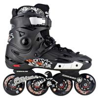 Giày trượt patin F5 màu đen trắng