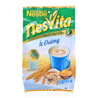 Ngũ cốc dinh dưỡng nguyên cám ít đường NesVita Nestlé gói 400g