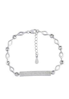 Lắc bạc nữ Bạc Ngọc Tuấn Q91LAU000101